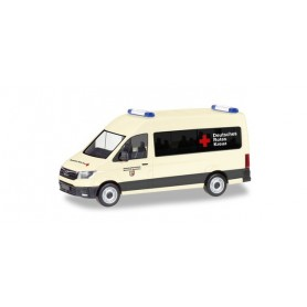 Herpa 094467 MAN TGE bus high Roof 'German Red Cross | Disaster relief operated North Rhine-Westphalia'