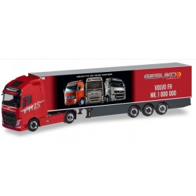 Herpa 310024 Volvo FH GL XL refrigerated semitrailer 'Gesuko | der 1.000.000ste Volvo'