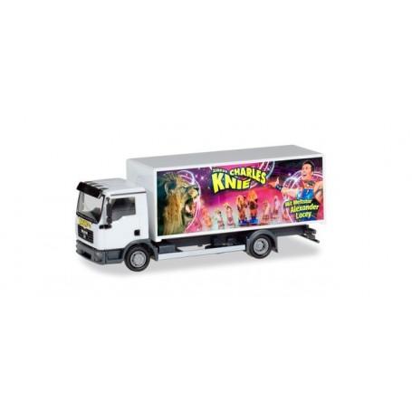 Herpa 310161 MAN TGL Box truck 'Circus Charles Knie'