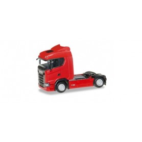 Herpa 310185 Scania CS 20 low roof tractor, red