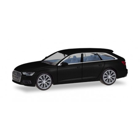 Herpa 430685 Audi A6 ® Avant, brilliant, with two-color rims