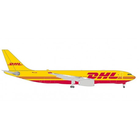 Herpa 532969 Flygplan DHL Aviation (European Air Transport) Airbus A330-200F
