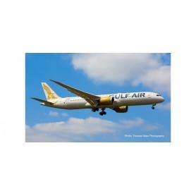 Herpa 532976 Flygplan Gulf Air Boeing 787-9 Dreamliner