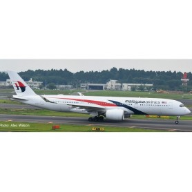 Herpa 532990 Flygplan Malaysia Airlines Airbus A350-900