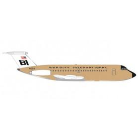 Herpa 533003 Flygplan Braniff International BAC 1-11-200 'Jelly bean Ochre'