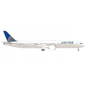 Herpa 533041 Flygplan United Airlines Boeing 787-10 Dreamliner