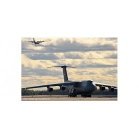 Herpa 533058 Flygplan USAF Lockheed C-5M Super Galaxy ? 337th Airlift Squadron, 439th Airlift Wing, Westover Air Reserve Base