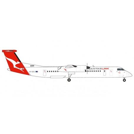 Herpa 559546 Flygplan QantasLink Bombardier Q400 - new colors