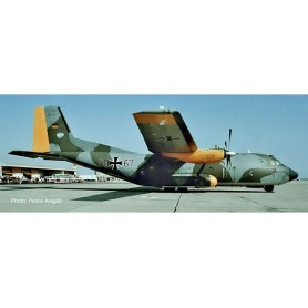 "Herpa 559560 Flygplan Luftwaffe Transall C-160 - Lufttransportgeschwader 63 | Air Transport Wing 63, Hohn Air Base ""Norm 72"""