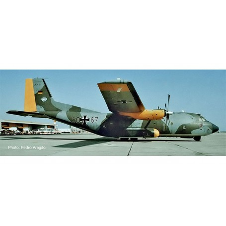 Herpa 559560 Flygplan Luftwaffe Transall C-160 - Lufttransportgeschwader 63 | Air Transport Wing 63, Hohn Air Base ?Norm 72?