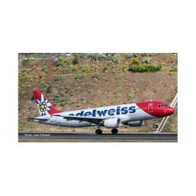 Herpa Wings 559584 Flygplan Edelweiss Air Airbus A320