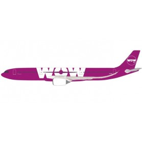 Herpa 612272 Flygplan Wow Air Airbus A330-900neo