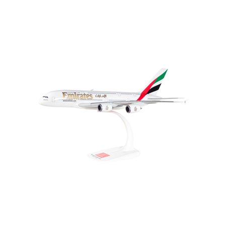 Herpa 607018-001 Flygplan Emirates Airbus A380-800