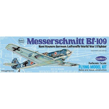 Guillows 505 Balsaflygplan Messerschmitt BF-109, byggsats i trä