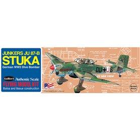 Guillows 508 Balsaflygplan Junkers JU-87B Stuka byggsats i trä