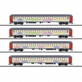 Märklin 42906 Vagnsset med 4 personvagnar 'Snälltåget'