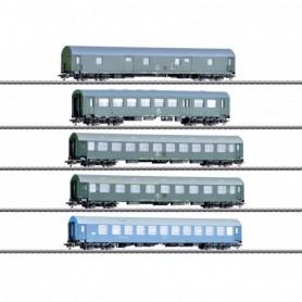 Märklin 42982 Vagnsset med 5 personvagn typ DR