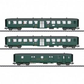 Märklin 43385 Vagnsset med 3 personvagnar typ SBB|CFF|FFS 'D96 Isar-Rhône' Set 2