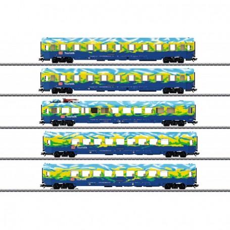 Märklin 43878 Vagnsset med 4 personvagnar typ DB AG 'Tourism'