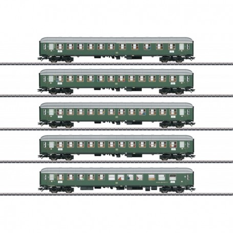 Märklin 43935 Vagnsset med 5 personvagnar typ SBB|CFF|FFS 'D96 Isar-Rhône' Set 1