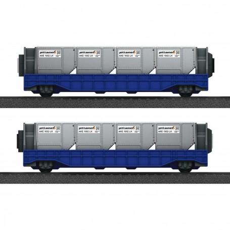 Märklin 44117 Vagnsset med 2 godsvagnar 'Jettainer'