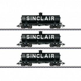 Märklin 45664 Vagnsset med 3 tankvagnar 'Sinclair'