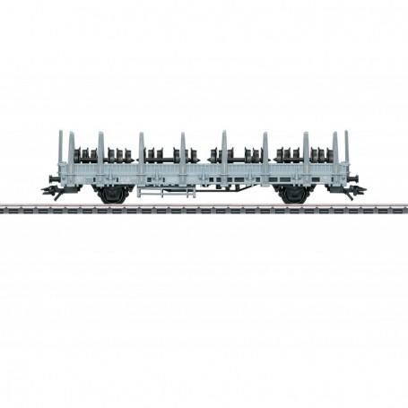Märklin 46937 Stolpvagn Ks typ SBB|CFF|FFS med last av hjul