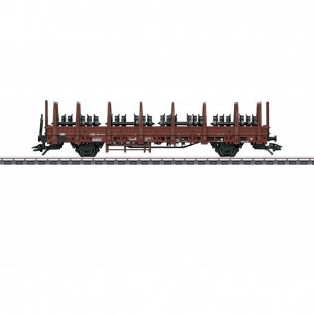 Märklin 46938 Stolpvagn Kbs 442 typ DB med last av hjul