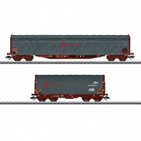 Märklin 47102 Vagnsset med 2 godsvagnar Rils 'Ermewa'