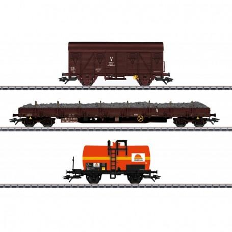 Märklin 47103 Vagnsset med 3 godsvagnar 'Colas Rail' typ SNCF