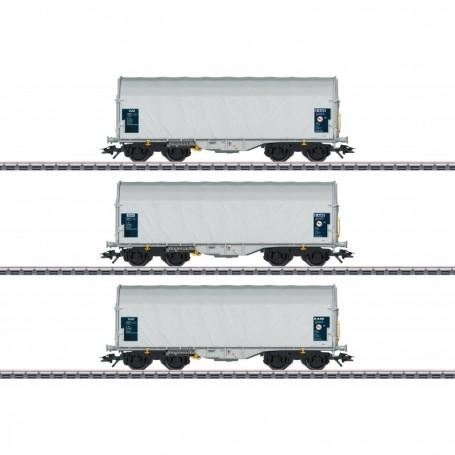 Märklin 47219 Vagnsset med 3 godsvagnar Shimmns 62 'SSAB Tunnplåt AB'