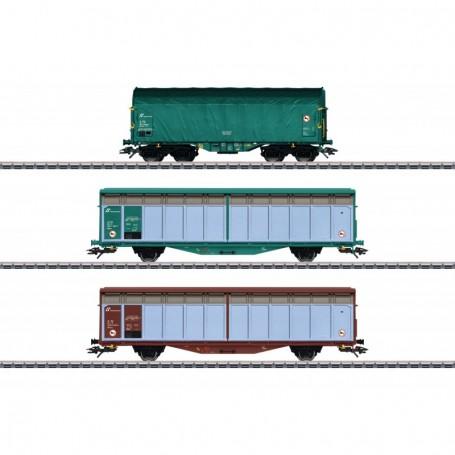 Märklin 47871 Vagnsset med 3 godsvagnar typ FS
