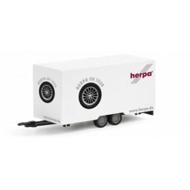 "Herpa 052382 Box trailer ""Herpa on Tour"""