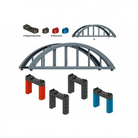 Märklin 72218 Märklin my world - Elevated Railroad Bridge Building Block Set