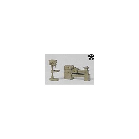 Preiser 18355 Borrmaskin och svarv
