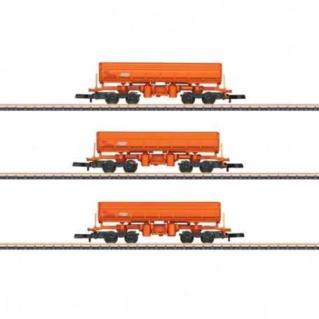 Märklin 82435 Vagnsset med 3 tippvagnar Eamos 'RTS Rail'