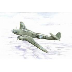 """Special Hobby 72090 Flygplan Focke Wulf Fw 58B """"Gunner Trainer Version"""" Svenska dekaler"""