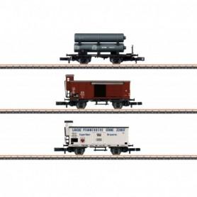 Märklin 86604 Vagnsset med 3 godsvagnar typ K.P.E.V.
