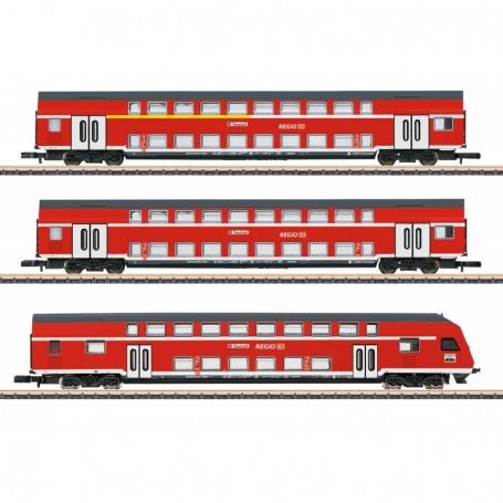 Märklin 87297 Vagnsset med 3 personvagnar typ DB 'Regio'