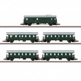 Märklin 87507 Vagnsset med 3 personvagnar typ DB 'Höllentalbahn'