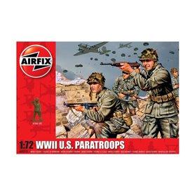 Figurer WWII U.S. Paratroops