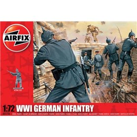 Figurer WWI German Infantry