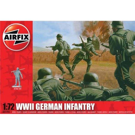 Airfix 01705 Figurer WWII German Infantry