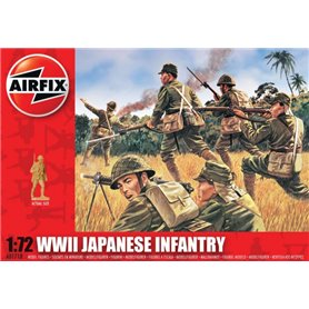 Figurer WWII Japanese Infantry