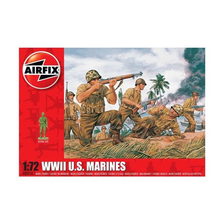 Airfix 00716 Figurer WWII U.S. Marines