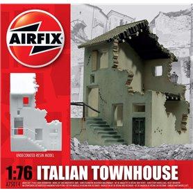 Italian Townhouse, färdigmodell i resin, omålad
