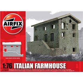 Italian Farmhouse, färdigmodell i resin, omålad