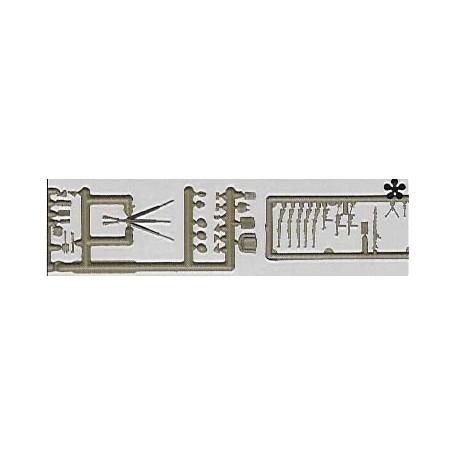 Preiser 18357 Vapenutrustning