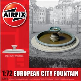 European City Fountain, färdigmodell i resin, omålad