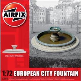 European City Fountain, färdigmodell i resin, omålad